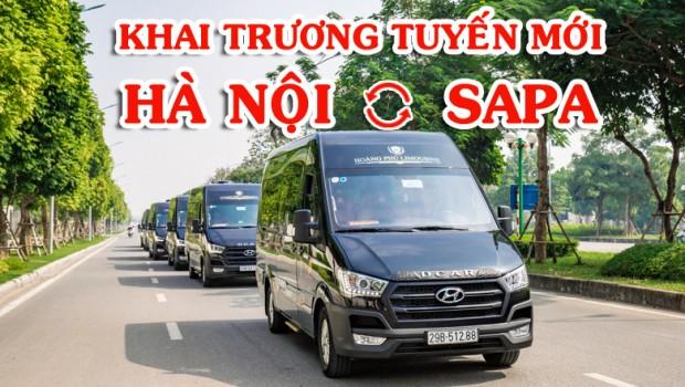 Khai trương tuyến Hà Nội – Sapa – Limousine Hyundai Solati 11 chỗ